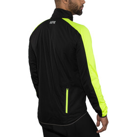 GORE WEAR C3 Gore Windstopper Jacket Men black/neon yellow
